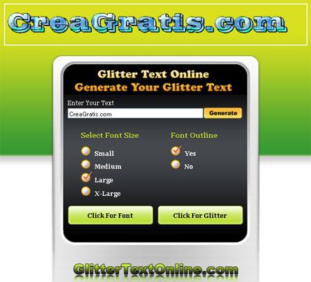 scritte-glitterate-gratis