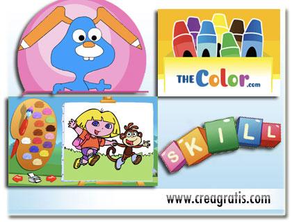 Giochi educativi e Disegni da colorare per bambini