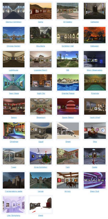 gallerie di foto 3D