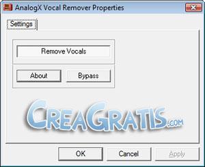 Voice Remover, eliminare voci da canzoni