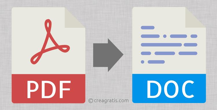Soluzioni per convertire PDF in Word