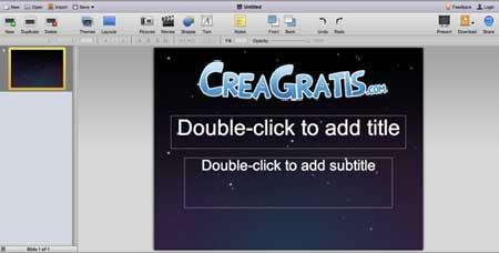 Interfaccia-280Slides-crea-presentazioni-online