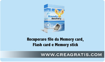 recuperare file memory card