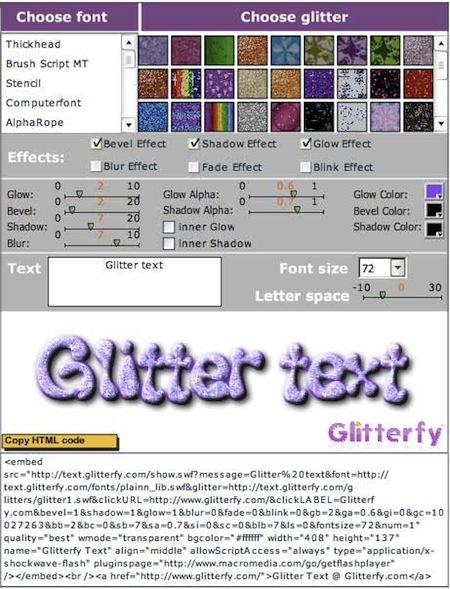 glitterfly