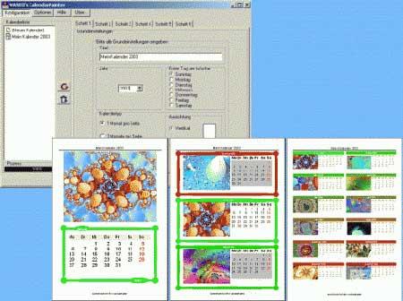 programma per creare calendari personalizzati con foto