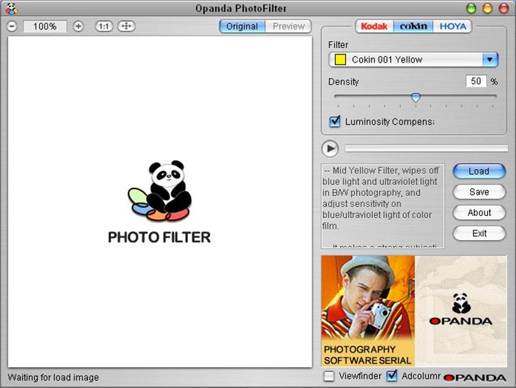 Programma per applicare filtri alle foto