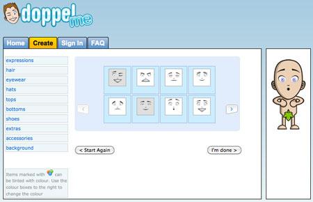 Creare avatar personalizzati con Doppelme
