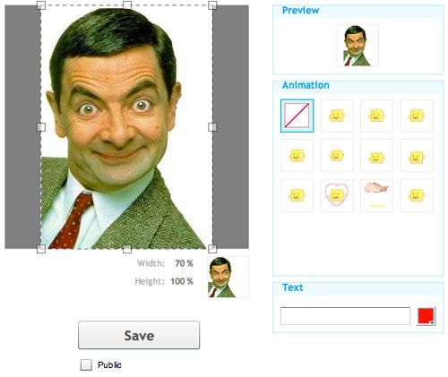 Emoticon animate con la tua foto