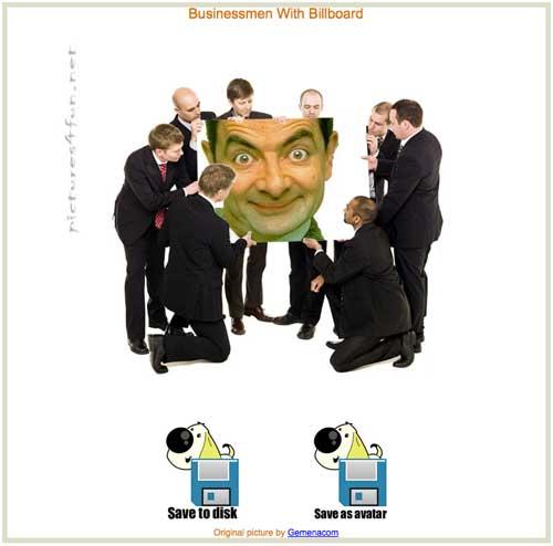 Salvare il fotomontaggio come immagine o avatar