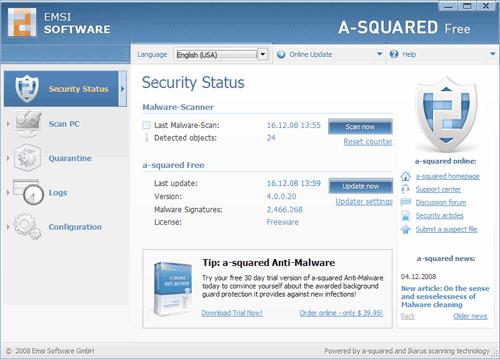 Antivirus gratis per Windows - 7