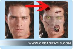 Creare Fotomontaggi con zombie e la tua foto