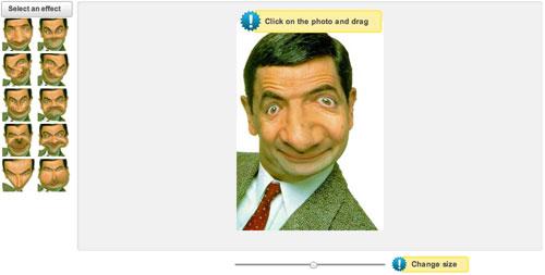 Deformare viso per creare caricature