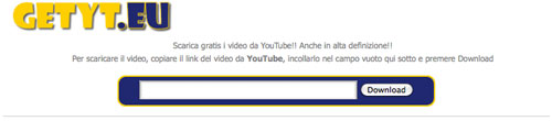 Scaricare video in MP4 e 3GP da YouTube