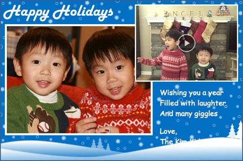 Creare video di auguri di Buon Capodanno