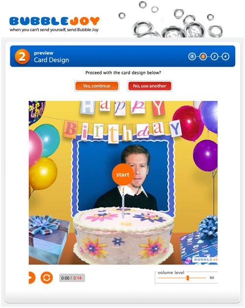Creare video di auguri di compleanno