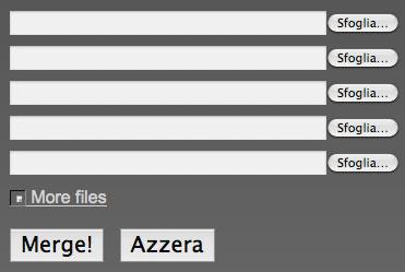 Come Unire file PDF