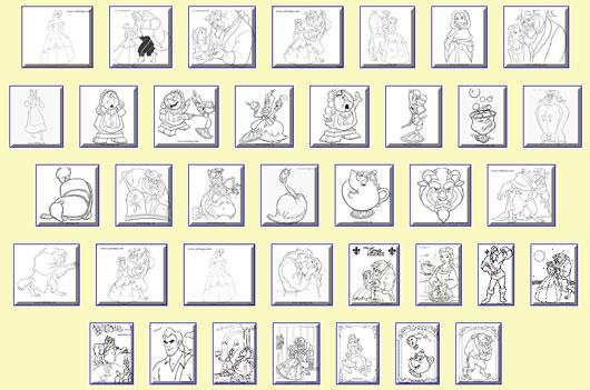 Disegni per bambini da stampare e colorare cartoni animati for Disegni da colorare e stampare disney