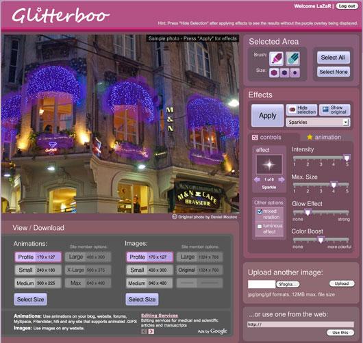 Creare Immagini Glitterate