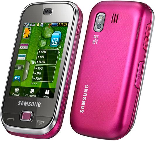 Immagine del cellulare Samsung B5722