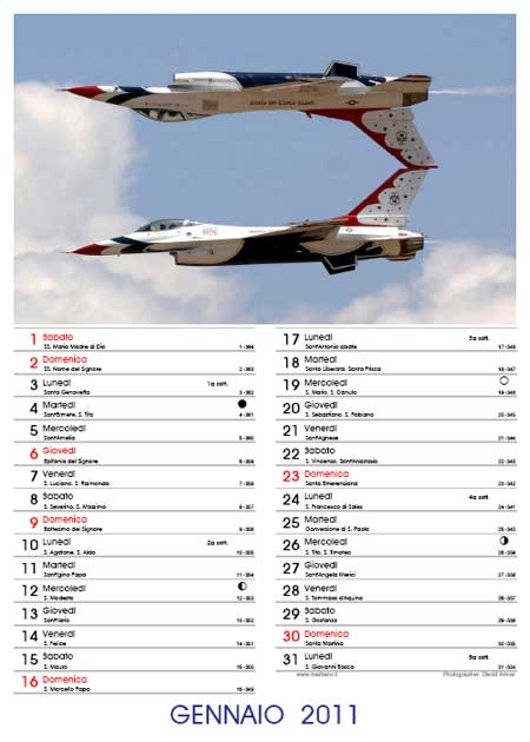 Calendari 2011 in PDF