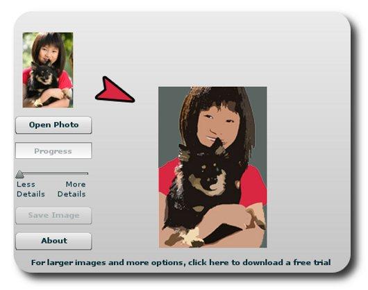 Trasformare Foto in Cartone Animato