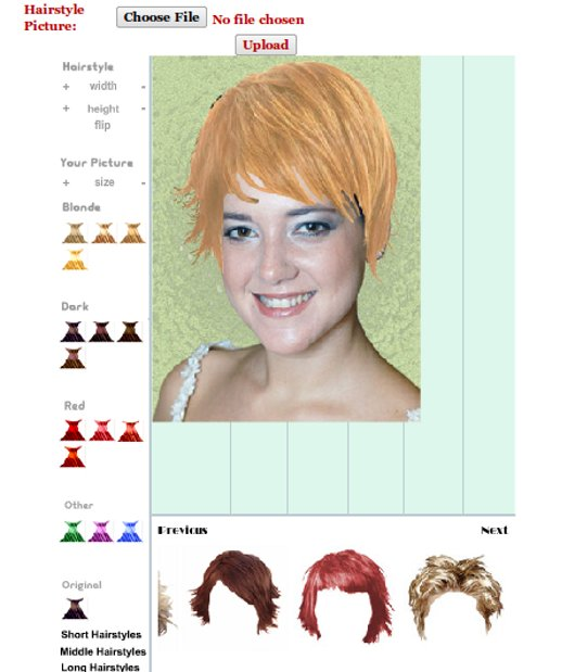 Scegliere taglio di capelli online