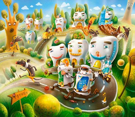 Calendario 2011 Colorato