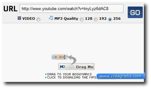 Secondo sito per scaricare Mp3 da YouTube