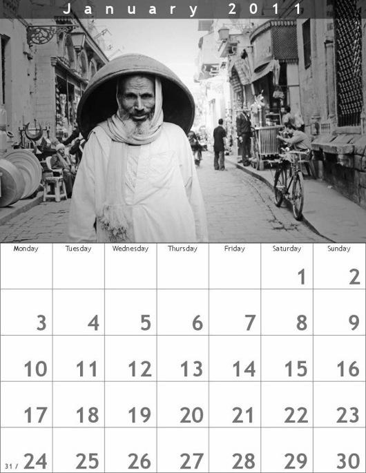 Calendario con foto originali