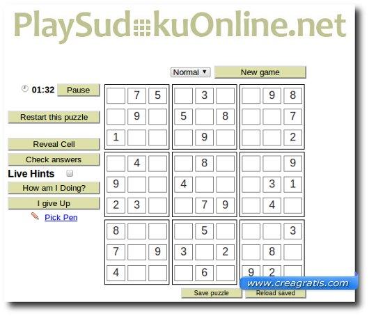 Tanti Schemi del Sudoku