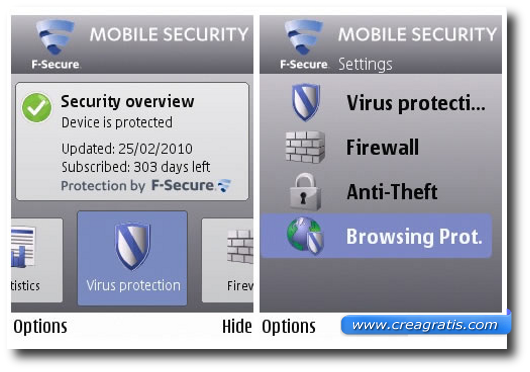 Antivirus F-Secure Mobile Security