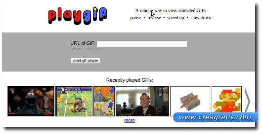 Modificare GIF Animate online