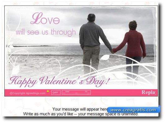 Cartoline di auguri di San Valentino