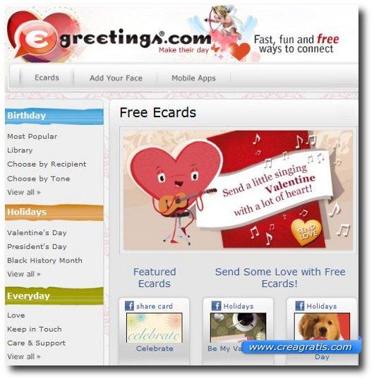 Inviare Cartoline Virtuali gratis