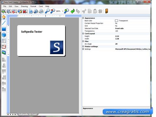 Software free per creare biglietti a visita
