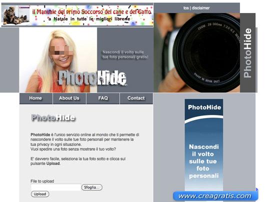 Servizio online per oscurare i volti delle nostre foto