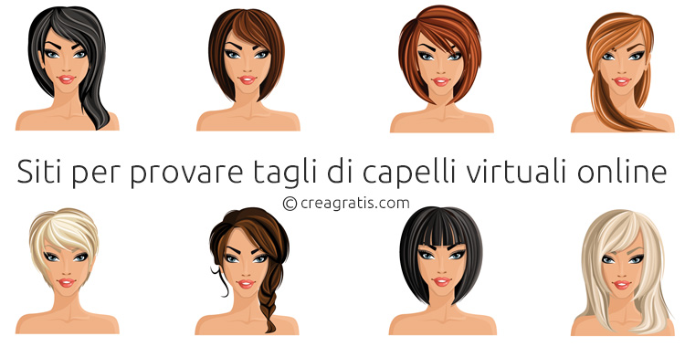 Tagli di capelli virtuali uomo gratis