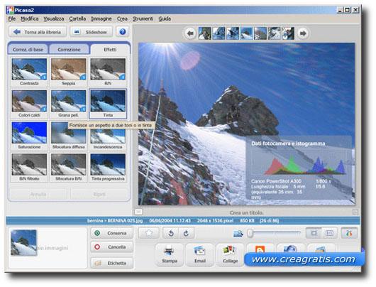 Programma gratis per catalogare foto