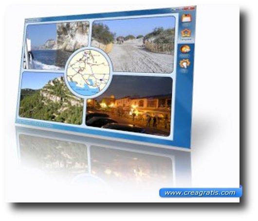 Programma per creare cartoline