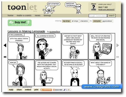 Fumetti da creare online