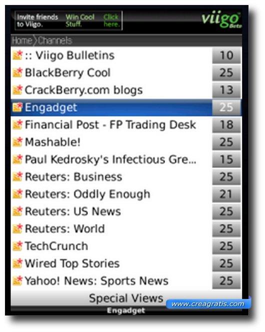 Reader per Blackberry