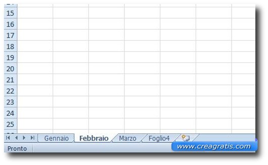 Fare Un Calendario Con Excel.Come Creare Un Calendario In Excel Creagratis Com