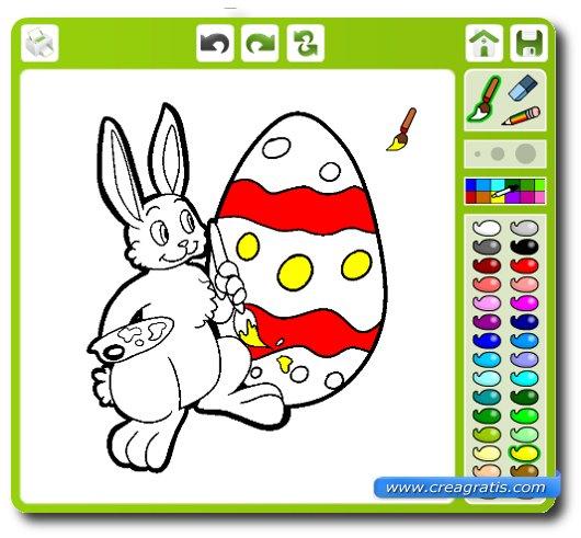 disegni da colorare sul computer on line