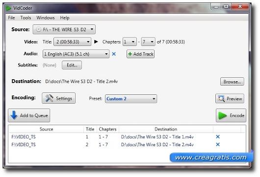 Programma per copiare DVD