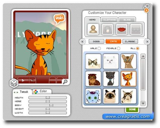 Sito per creare avatar online