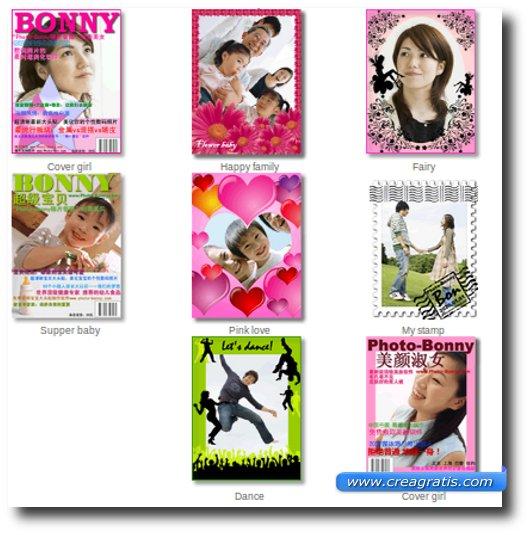 Fotomontaggi con copertine di riviste famose