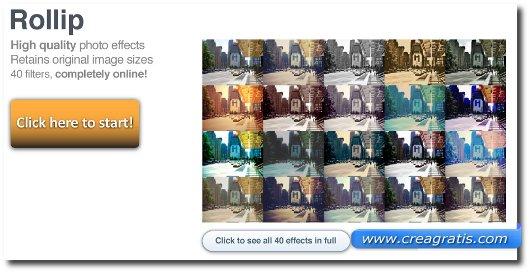 Sito per applicare effetti speciali alle foto