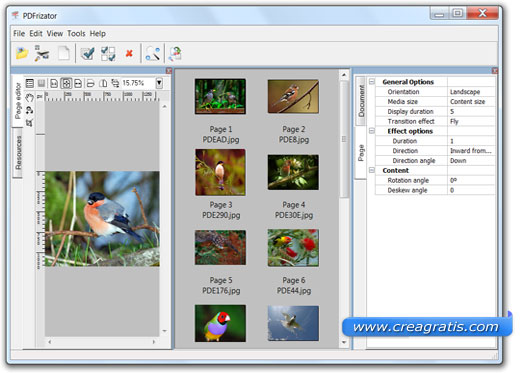 Programma per creare PDF
