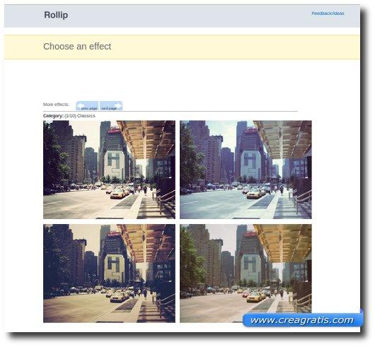 Modificare foto con 40 effetti speciali online e gratis for Effetti foto online