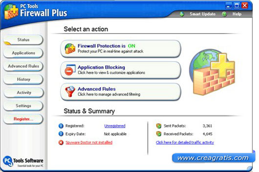 Primo firewall da scaricare gratis
